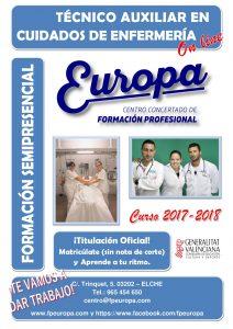 Estudia un título en Enfermería A TU RITMO, OFICIAL y ¡SIN NOTA DE CORTE!