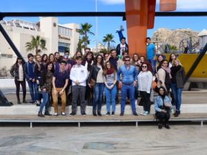 Visita al puerto de Alicante